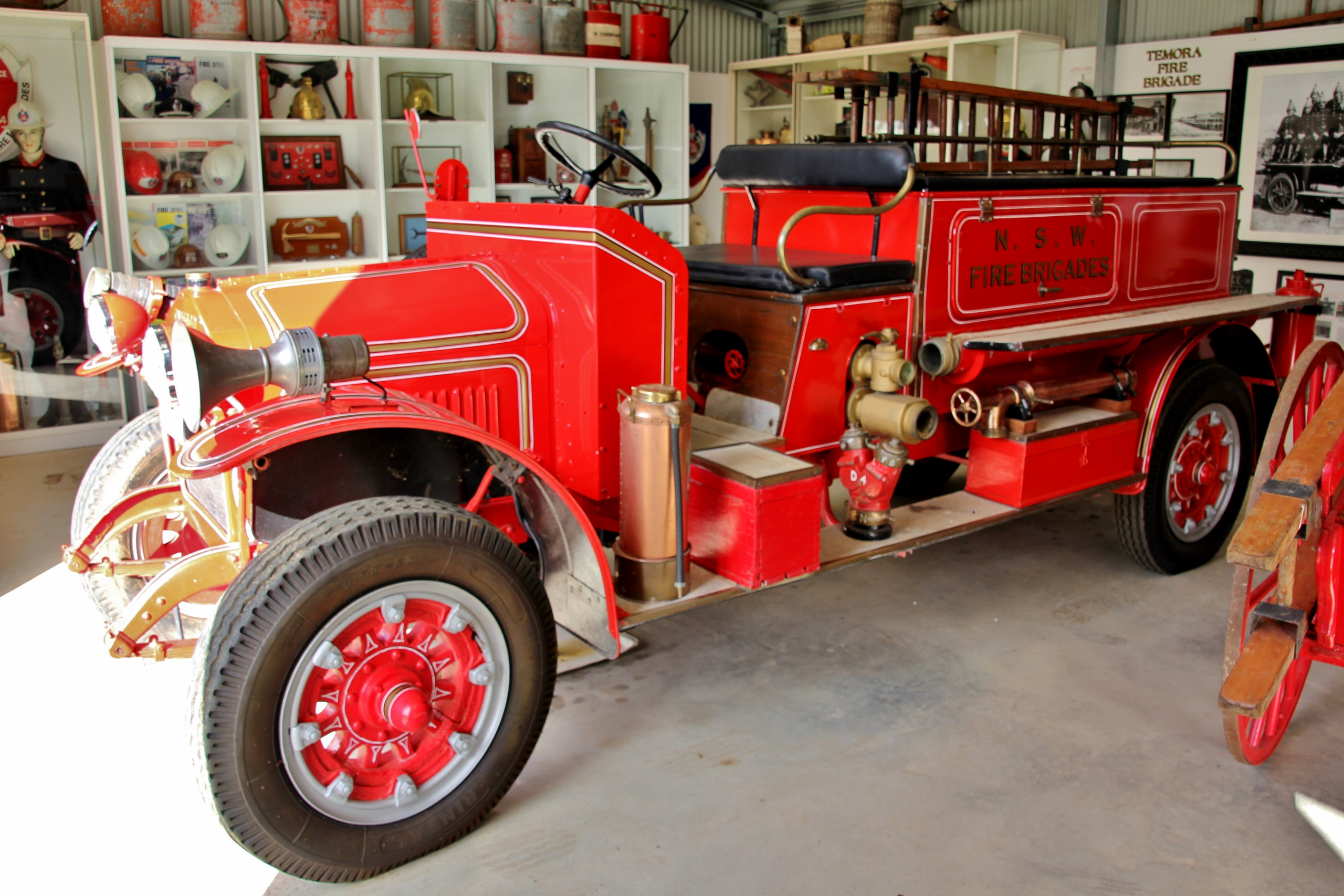 1923 Garford Pumper Fire Truck