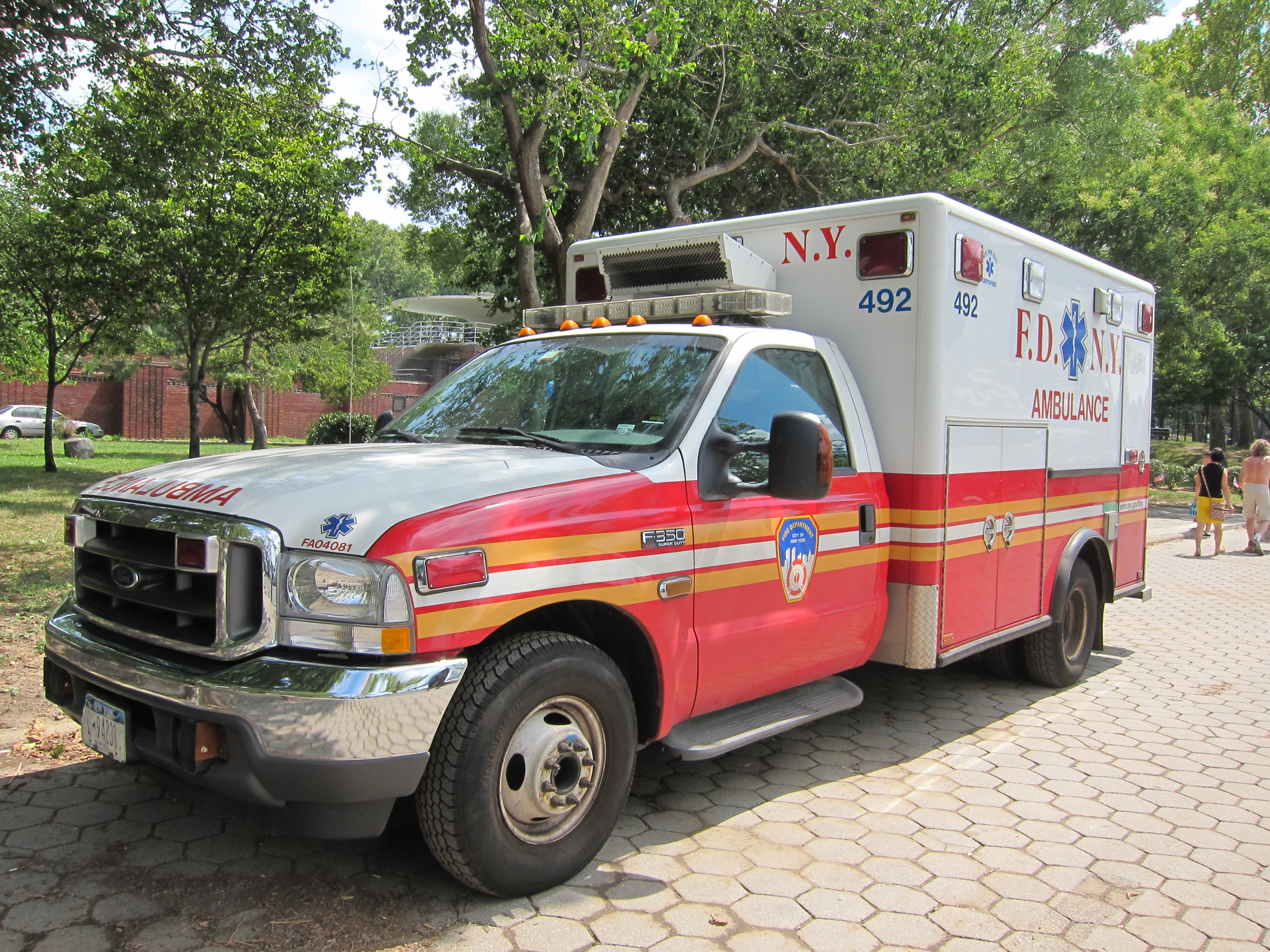 FDNY Ford Ambulance