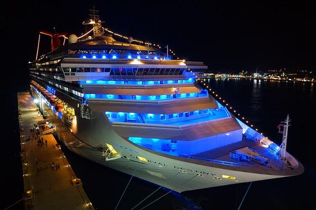 Neon Cruise Ship