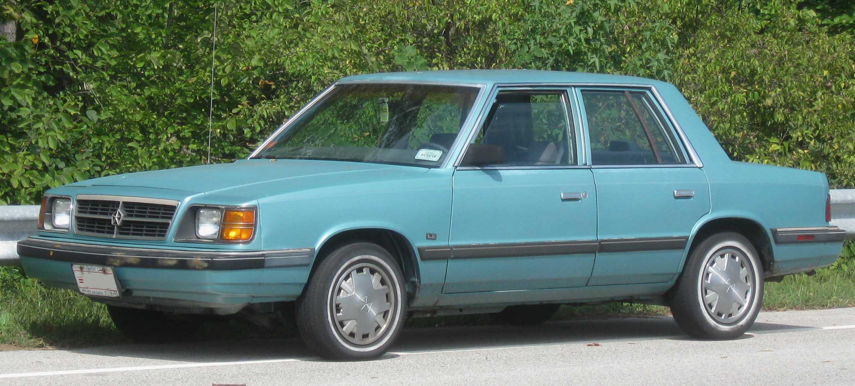 Dodge Aries Sedan