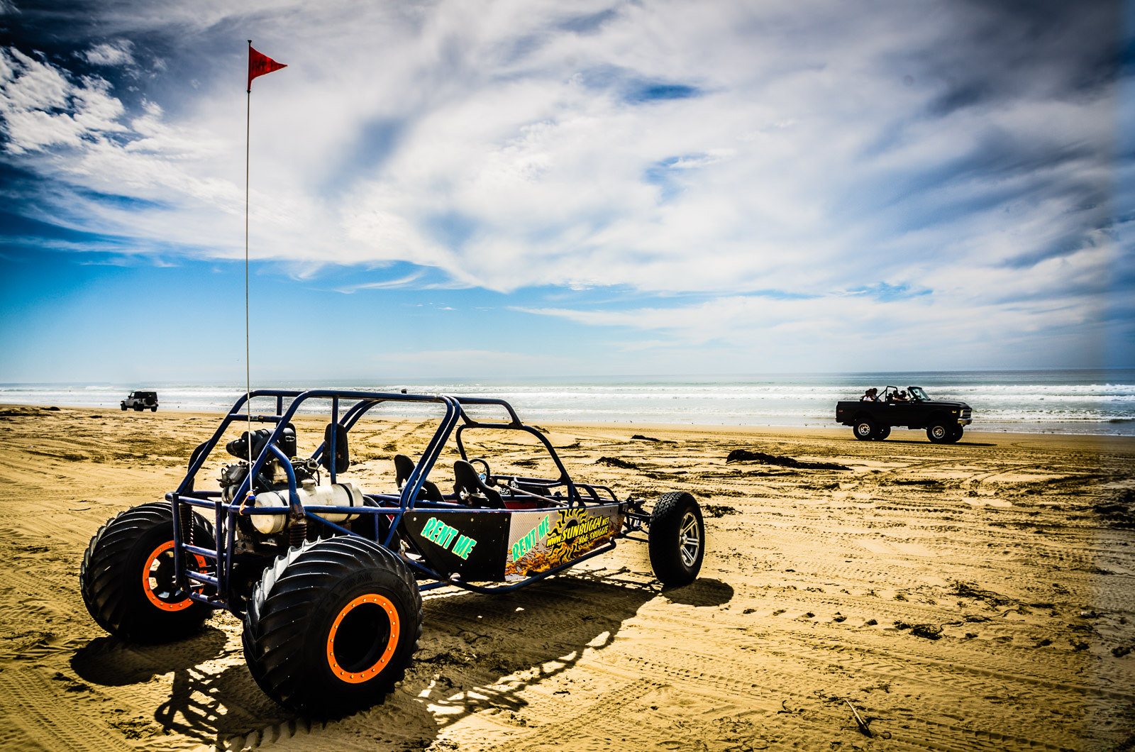 Dune Buggy on Beach