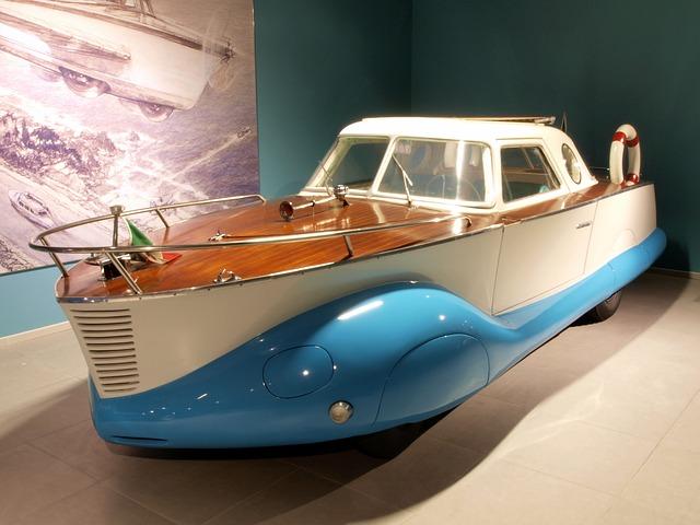 Fiat Amphibious Car