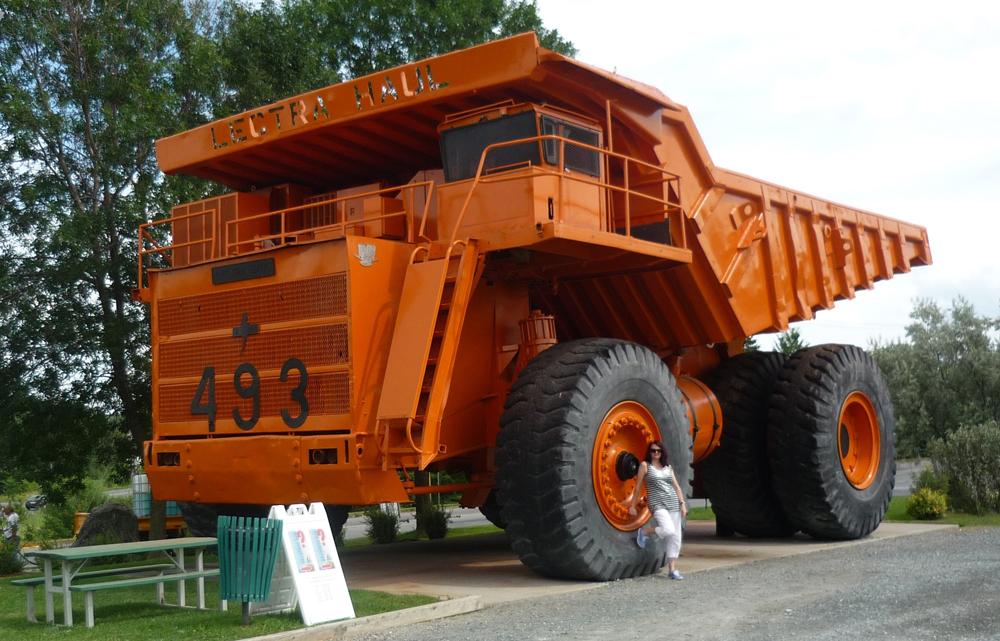 Giant Mining Truck