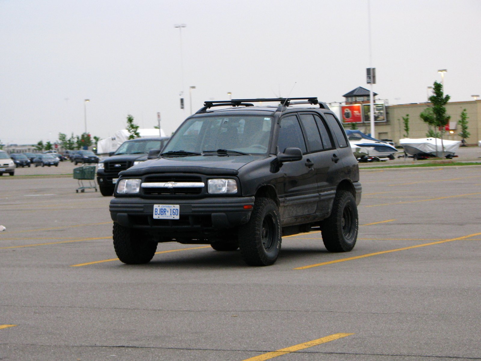 Lifted Chevy Tracker