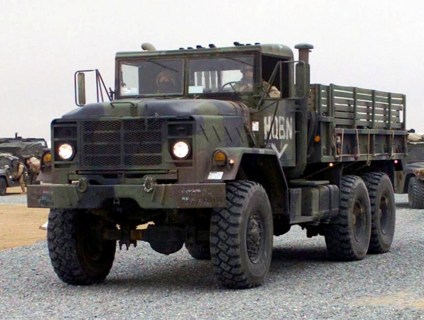 Military Transport Truck