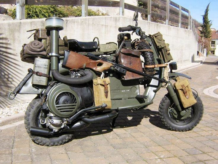 Survival Moped
